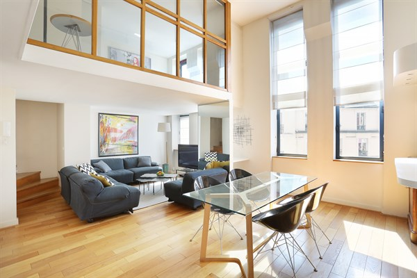 Luxury Duplex To Rent Long Term For 4 Guests 2 Bedrooms Paris 17th