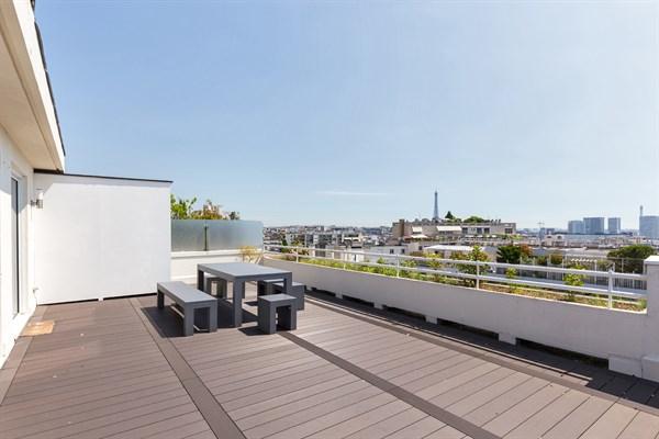 Appartement de prestige de 3 chambres doubles avec terrasse auteuil paris 16 me maison - Agence location meublee paris ...