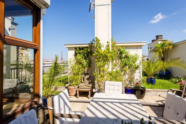 Appartement de prestige de 3 chambres avec jardin et vue saint placide paris 6 me le jardin - Appartement a louer avec jardin ...