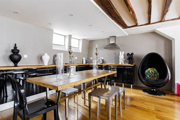 Superbe appartement de 2 pi ces pour 2 ou 4 au coeur du marais paris 4 me les archives l - Location meublee amortissement du bien ...