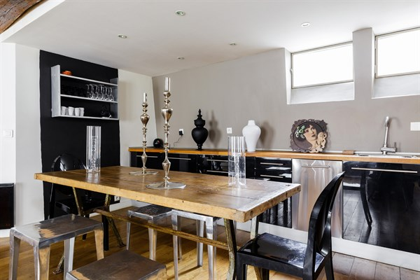 Superbe appartement de 2 pi ces pour 2 ou 4 au coeur du for Appart hotel paris location au mois