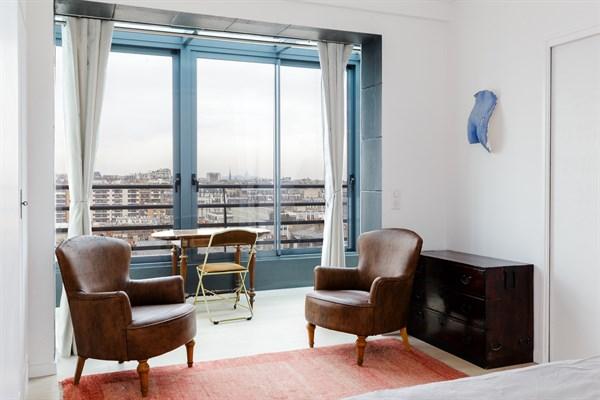 Magnifique appartement f2 pour 2 la vue panoramique aux - Location meuble paris e arrondissement ...