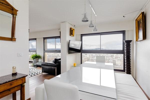 superbe appartement de 2 pi ces pour 2 avec vue. Black Bedroom Furniture Sets. Home Design Ideas