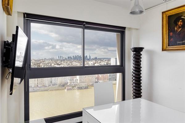 Superbe appartement de 2 pi ces pour 2 avec vue panoramique javel paris 15 me le - Location meublee temporaire paris ...