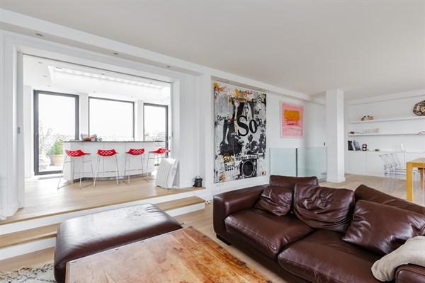 Duplex de luxe avec 4 chambres doubles et 2 terrasses ranelagh paris 16 me jasmin l 39 agence - Location appartement paris 4 chambres ...