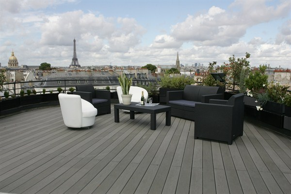 Superbe appartement louer en courte dur e paris 6 me for Appartement paris terrasse