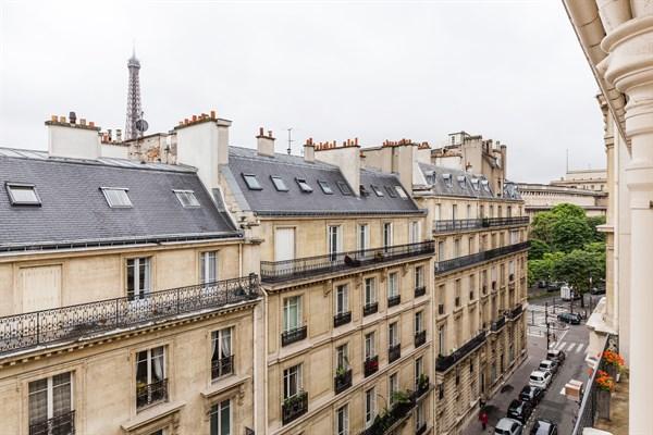 Grand appartement de 3 pi ces de 74 m2 pour location annuelle i na paris 16 me l beck l - Agence location meublee paris ...