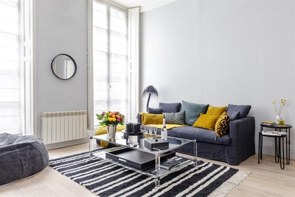 Spacieux appartement de 3 pi ces la d coration design - Appartement de standing burgos design ...