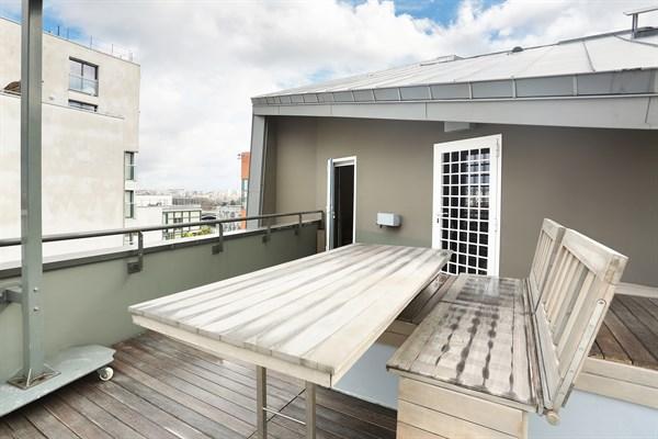 Bibliothque appartement cloison bibliothque reportage - Appartement luxe paris avec design sophistique et elegant ...