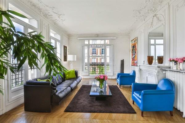 Appartement de luxe de 3 chambres avec vue tour eiffel et balcon paris 7 me le belgrade v l - Location appartement paris 4 chambres ...