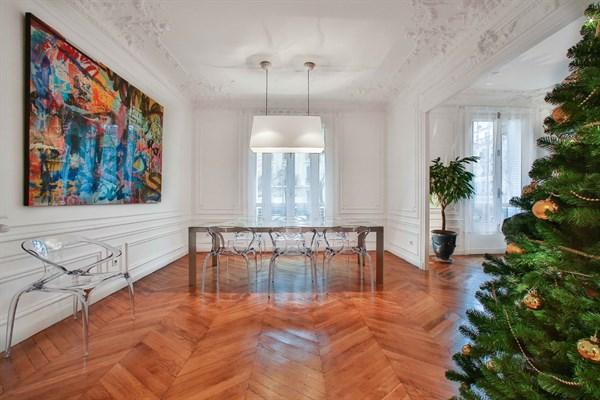 Appartement grand luxe de 3 chambres doubles en face du - Appartement luxe paris avec design sophistique et elegant ...