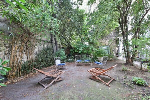Appartement 3 chambres de standing avec immense jardin montparnasse paris 15 me le garden l - Appartement a louer avec jardin ...