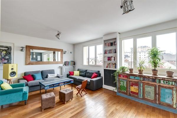 Appartement familial moderne louer avec 3 chambres la garenne colombes la colombe l - Agence location meublee paris ...