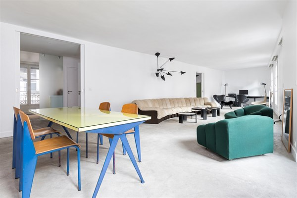 Le loft à la décoration design