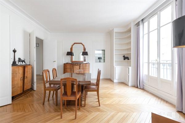 Appartement de luxe de 4 chambres louer meubl l 39 ann e trocad ro paris 16 me - Location appartement paris 4 chambres ...