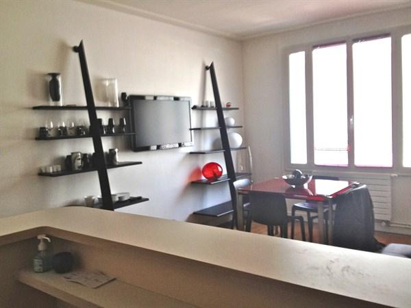 Appartement t2 40m2 luxe rdc paris 75017 le prony for Deco appartement t2 40m2