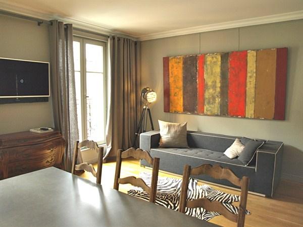 Luxueux appartement de 3 pi ces proche de l 39 etoile situ for Chambre au mois paris