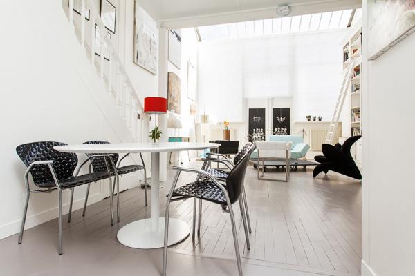 Magnifique atelier d 39 artiste de 115 m2 la d coration raffin e pour 2 p - Location atelier artiste lyon ...