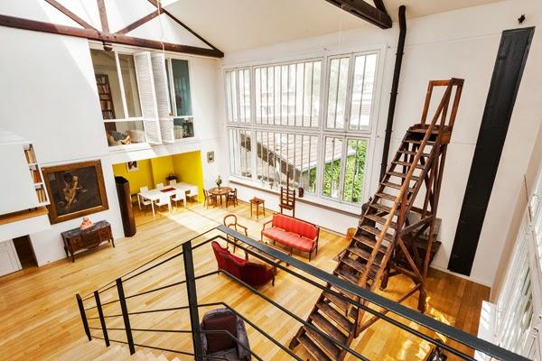 Superbe loft d 39 artiste louer meubl dans le 7 me l 39 atelier l 3 - Atelier d artiste a louer ...