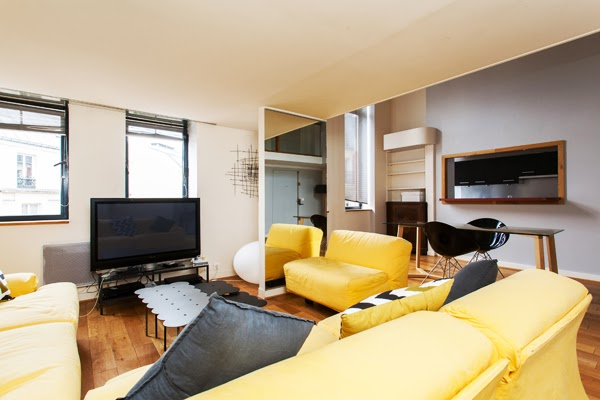magnifique duplex design de 84 m2 avec 2 chambres pereire paris 17 me laugier l 39 agence de. Black Bedroom Furniture Sets. Home Design Ideas