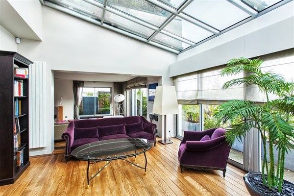 appartement de prestige avec 2 chambres une immense terrasse et un jacuzzi neuilly le. Black Bedroom Furniture Sets. Home Design Ideas
