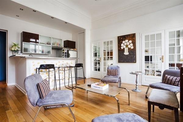 appartement 4 pi ces louer meubl en courte dur e place de l 39 etoile paris 8 me l 39 etoile l. Black Bedroom Furniture Sets. Home Design Ideas