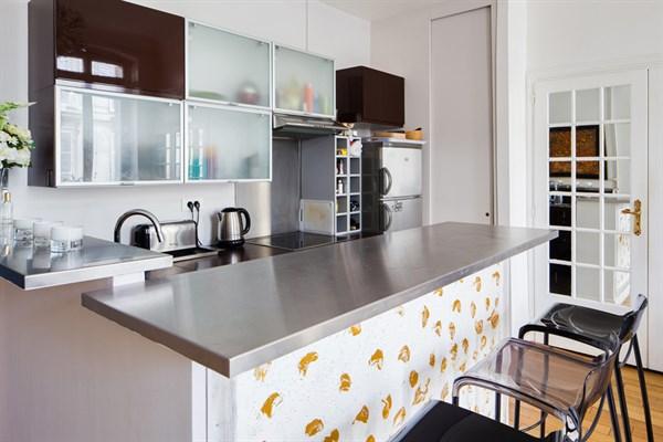 Appartement 4 pi ces louer meubl en courte dur e place - Paris location meublee courte duree ...