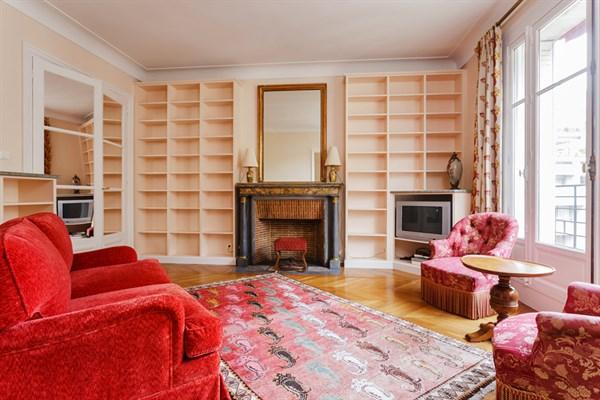 Appartement de prestige 4 chambres et balcon filant rue de l 39 universit paris 7 me l - Location meublee temporaire paris ...