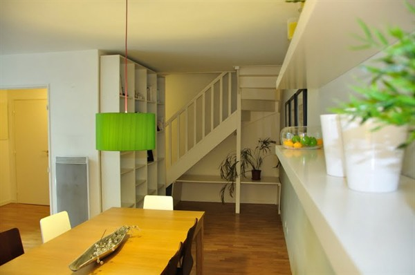 Location d 39 un duplex familial contemporain deux pas du - Location appartement meuble paris courte duree pas cher ...