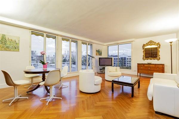 Appartement de 2 chambres spacieuse terrasse entre victor hugo et etoile paris 16 me paul - Location meublee temporaire paris ...