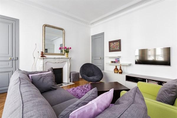 F4 familial de 3 chambres louer l 39 ann e meubl for Chambre au mois paris