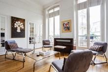 Appartement 4 pi ces louer meubl en courte dur e place - Appartement luxe paris avec design sophistique et elegant ...