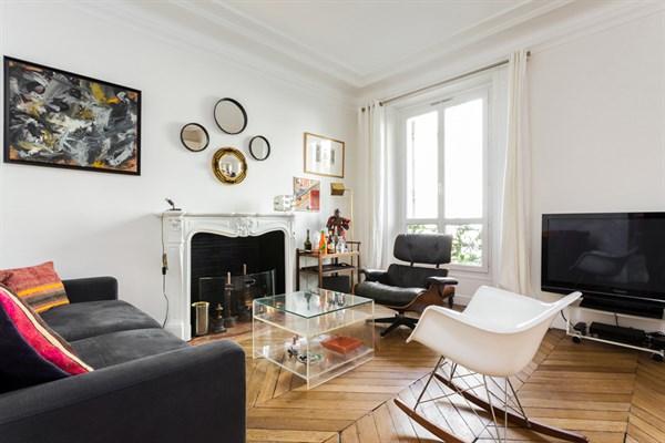 Lussuoso appartamento di due stanze nel triangolo d 39 oro di for Appartamenti a parigi